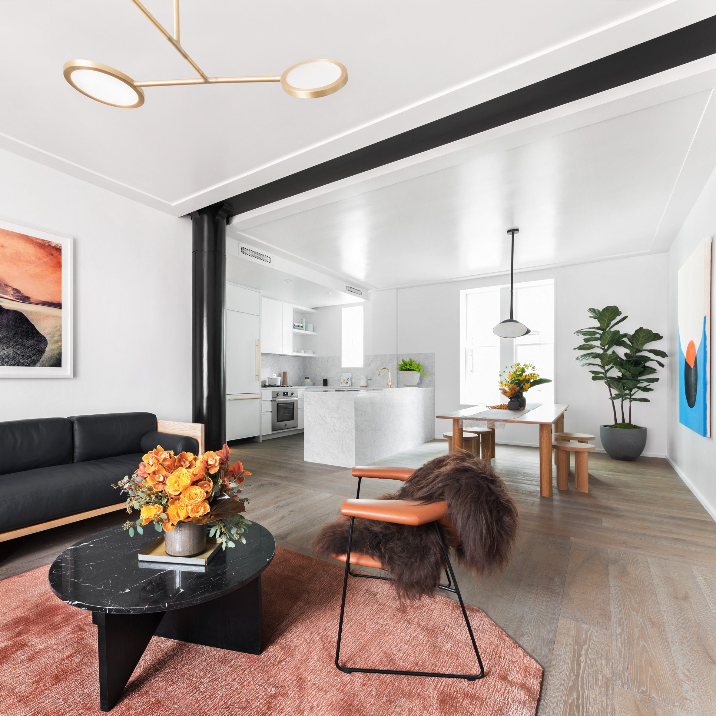 Brooklyn Apartment Gets Chic Interior Design By Local Studio