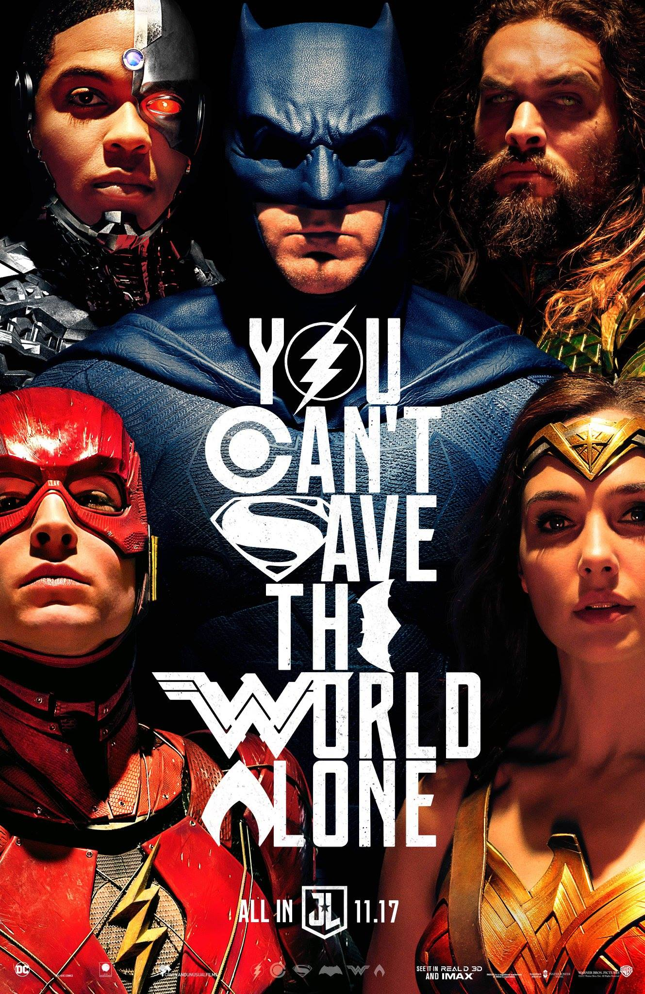 The Comic-Con trailer for Justice League reveals their