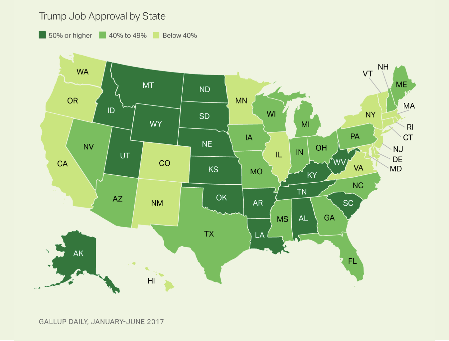 Trumps Approval Rating Is Below Across The Midwest And In - Show us on this map where trump hurt you