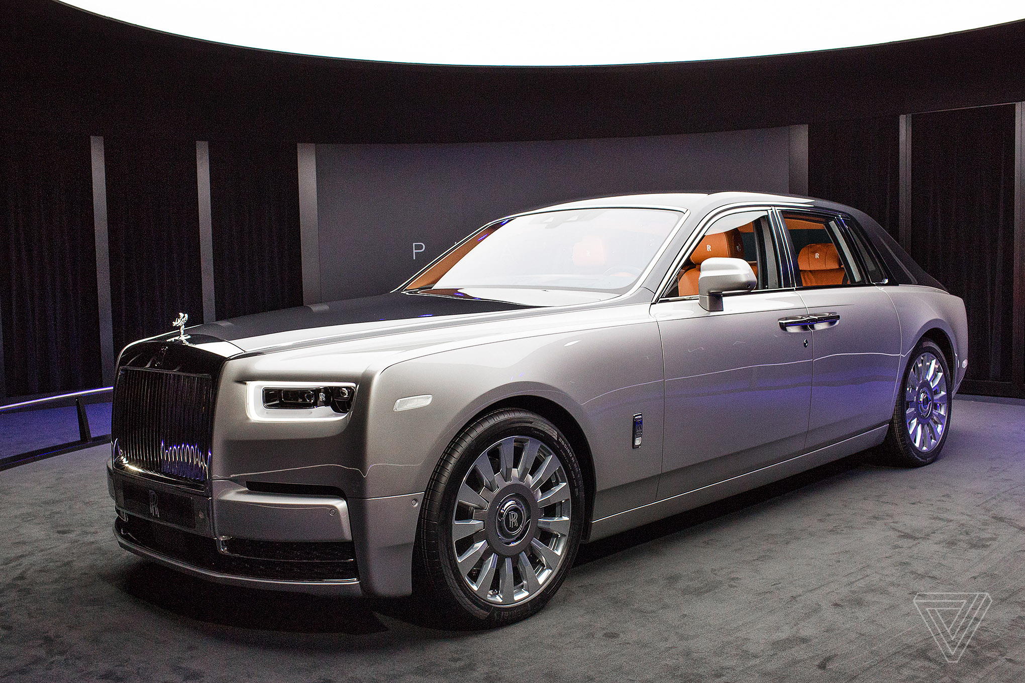 the rolls royce phantom design opens doors for an electric future the verge. Black Bedroom Furniture Sets. Home Design Ideas