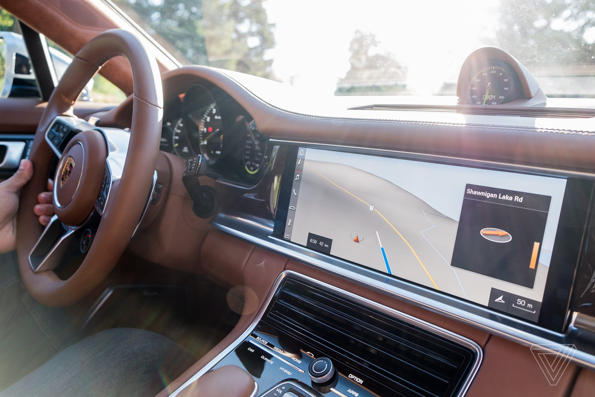 2018 porsche panamera turbo s e hybrid. fine porsche the turbo s ehybrid might look like itu0027s best suited to haul groceries  but it also absolutely hauls ass inside 2018 porsche panamera turbo s e hybrid