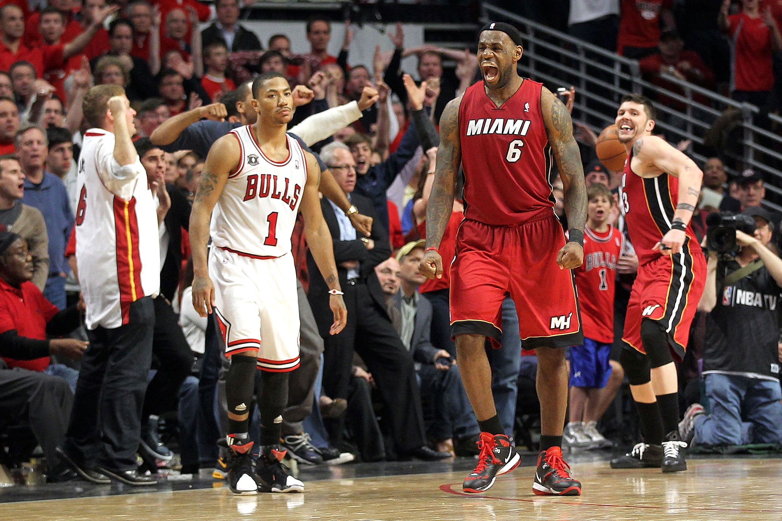 Hibbert and no 6 seed hawks al horford are two of the best centers - Derrick Rose And Lebron James Getty Images