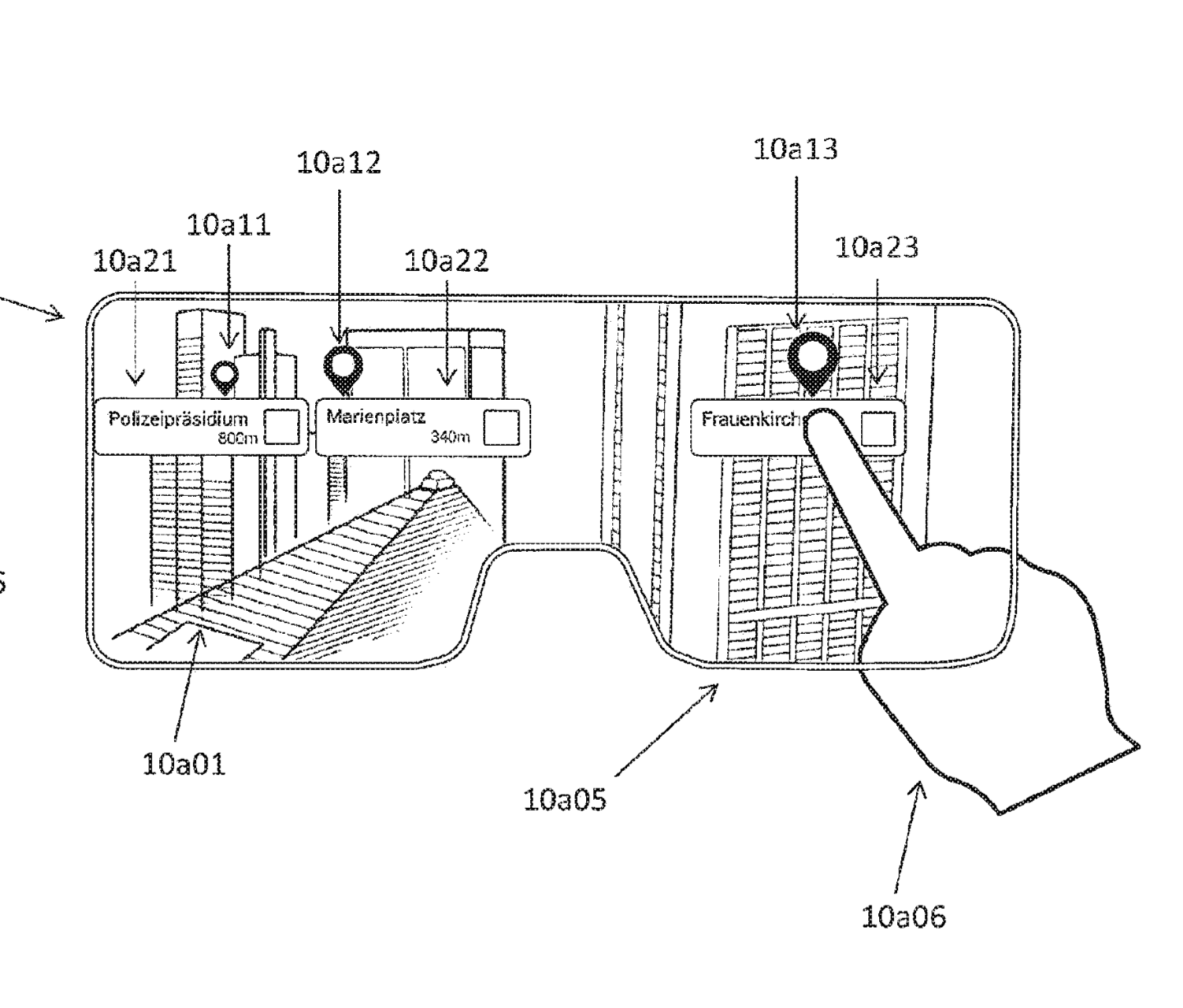 Apple patent application AR glasses