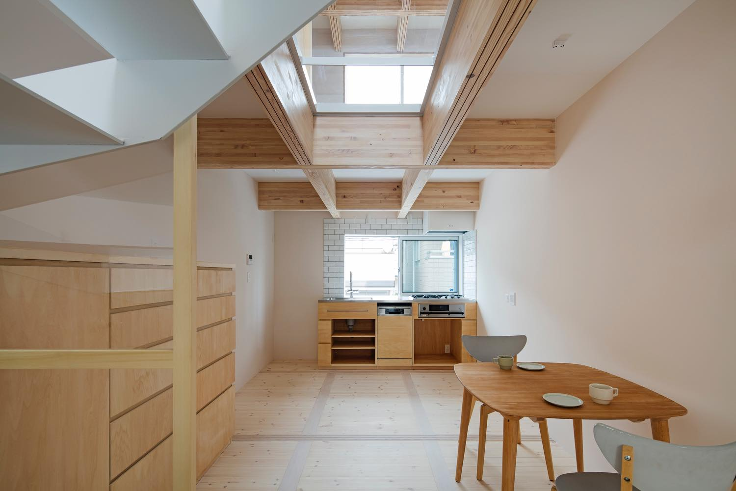 Minimalist home with moving walls rises outside tokyo curbed for Minimalist moving house