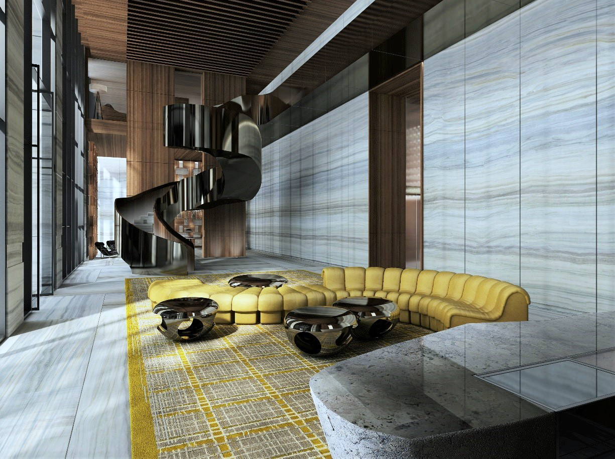 Completed miami developments matched up against their for Brickell house