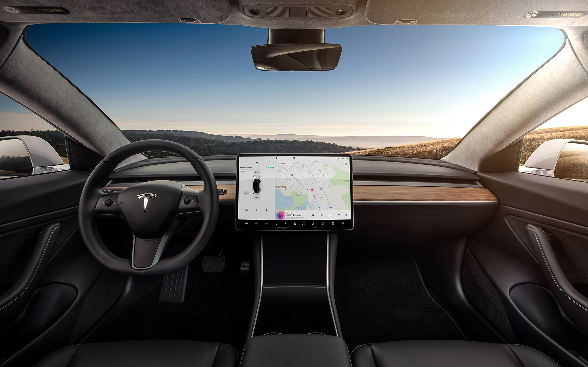 the tesla model 3 should have a heads up display   the verge