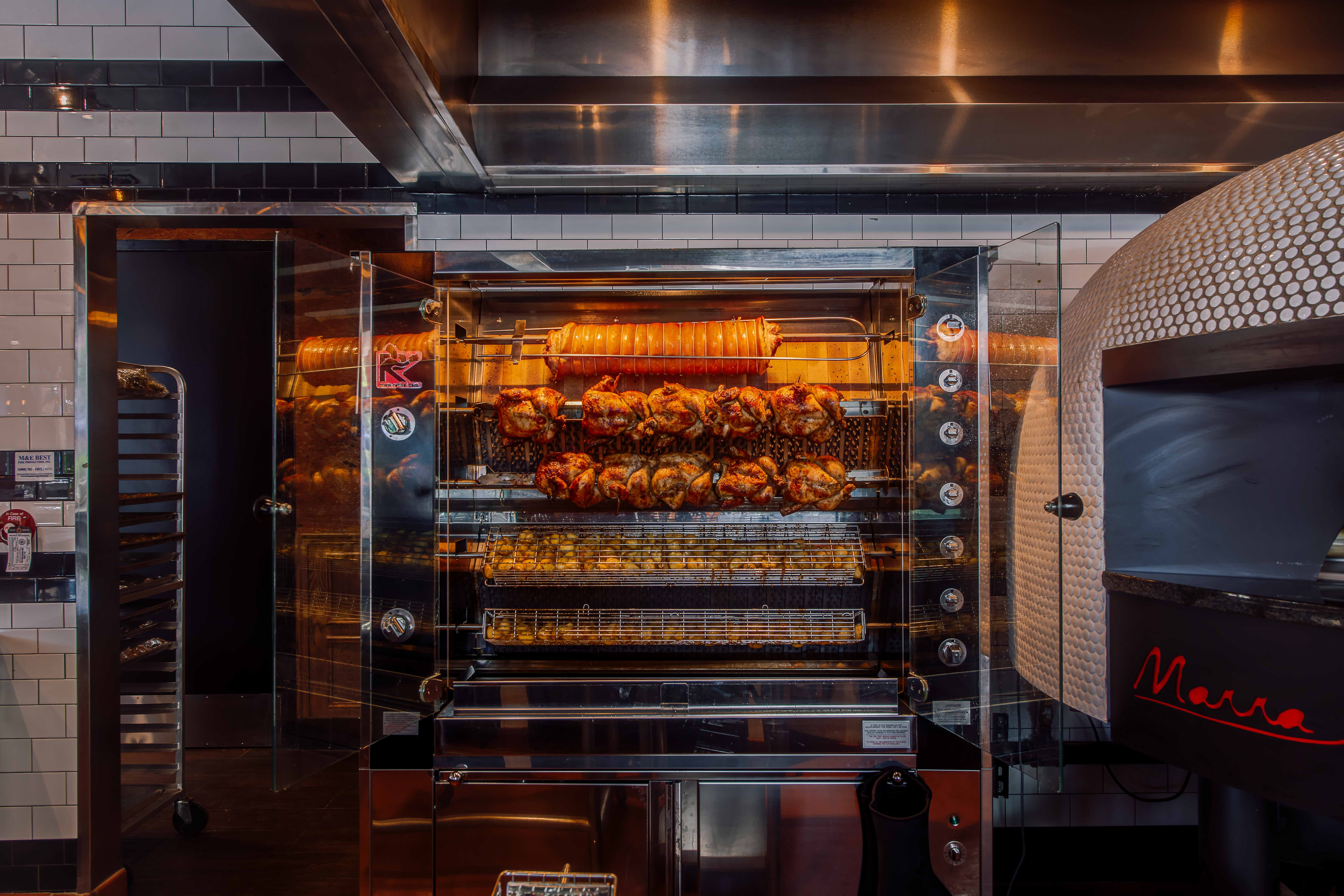 800 Degrees Hollywood Grows Up With New Rotisserie Chicken