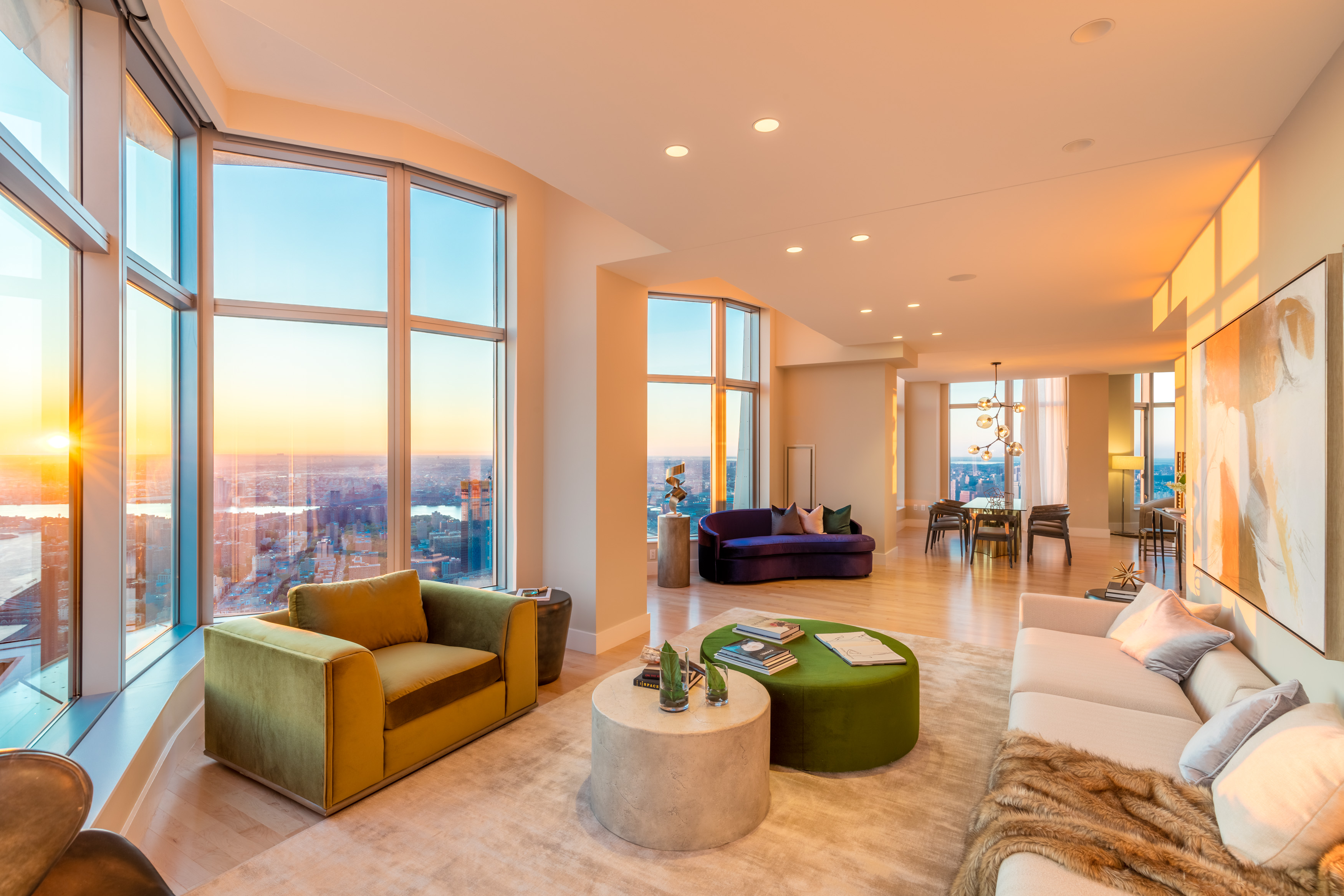 New york by gehry penthouse up for grabs as 45k month for New york penthouse rent