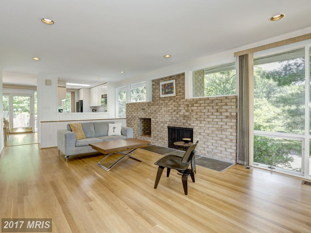 silver spring midcentury modern home lists for 665k designed by