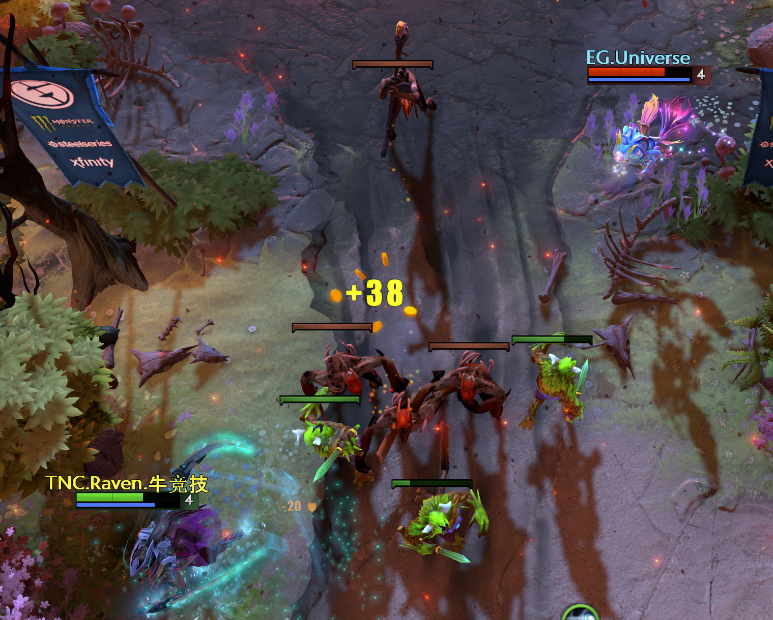 how to last hit creeps in dota 2