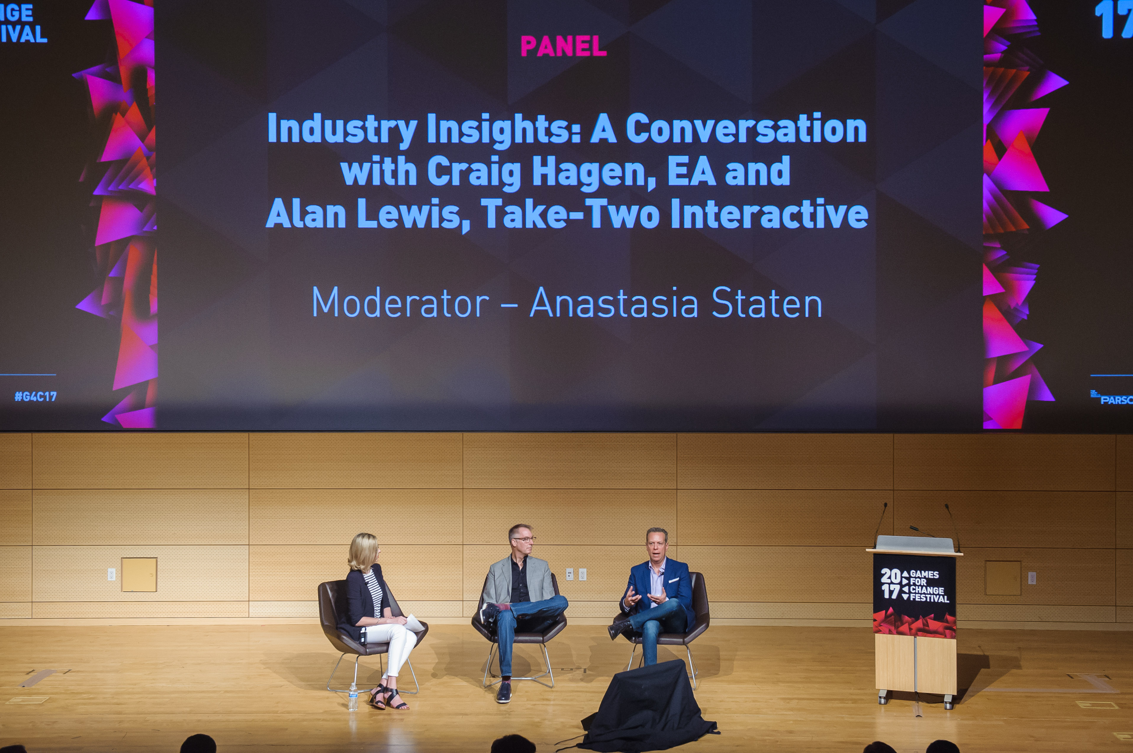 2017 Games for Change Festival - Industry Insights panel photo