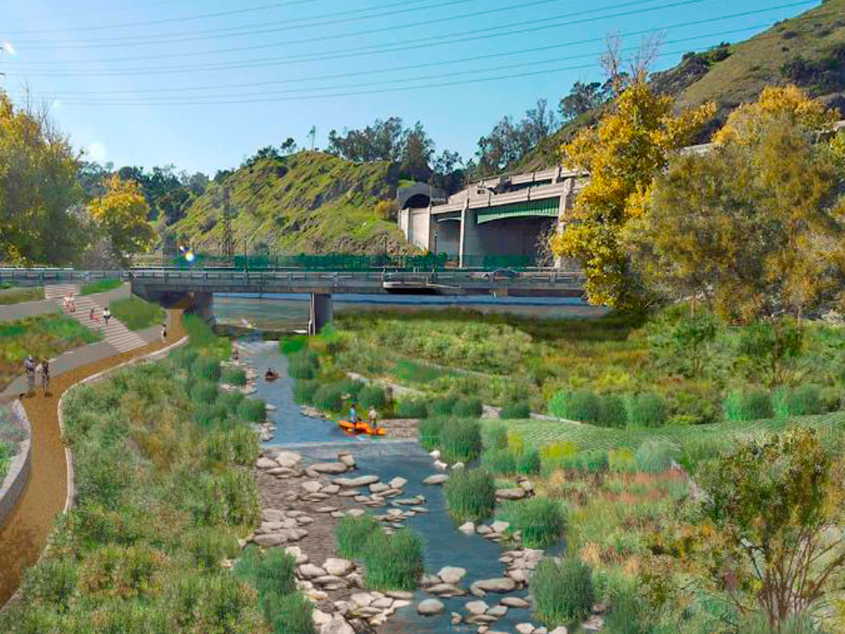 Cities Making Polluted Waterways Into Swimming Hotspots Curbed - A long river