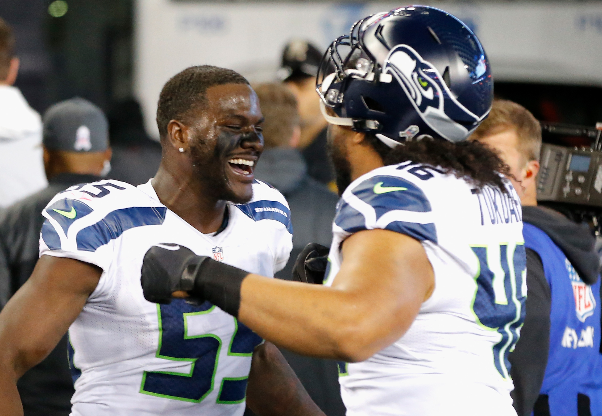 Seahawks Germain Ifedi leaves training camp bloo d after fight