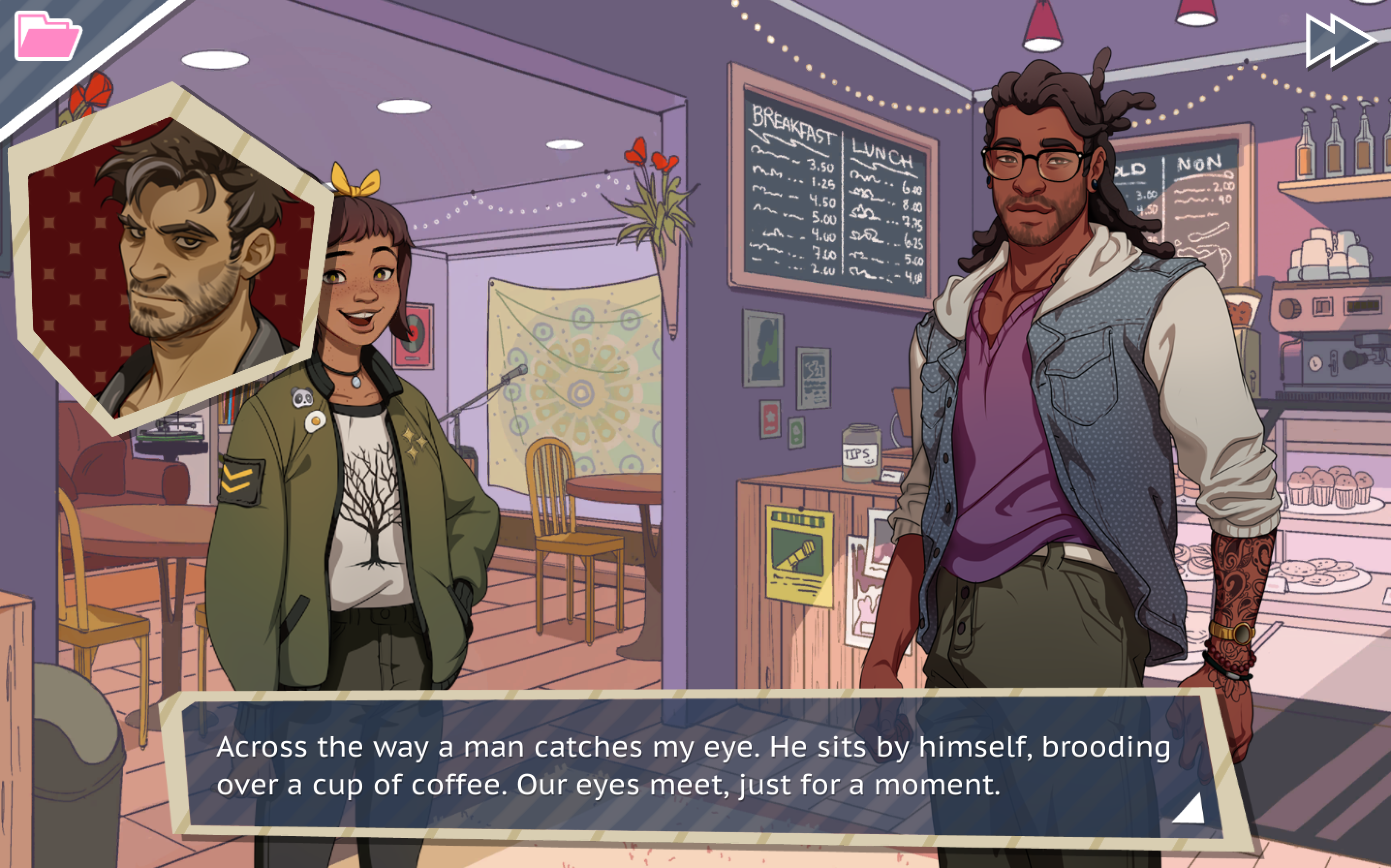 Dream Daddy's choices are intense