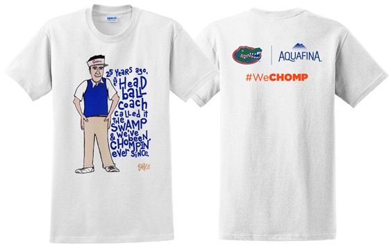 Florida releases student section t shirts for 2017 for Florida gators the swamp shirt
