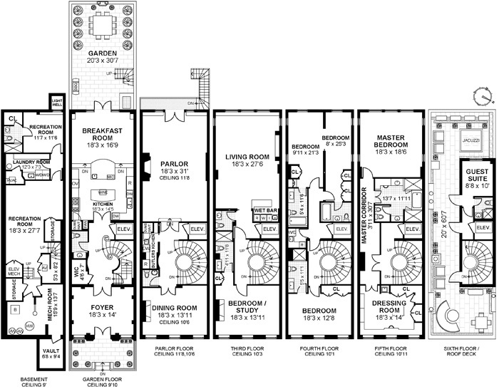 trio of ues townhouses to ask 534m trd