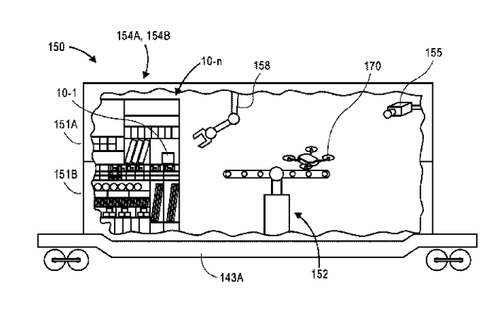 Amazon Files Patent for Drone Stations on Vehicles