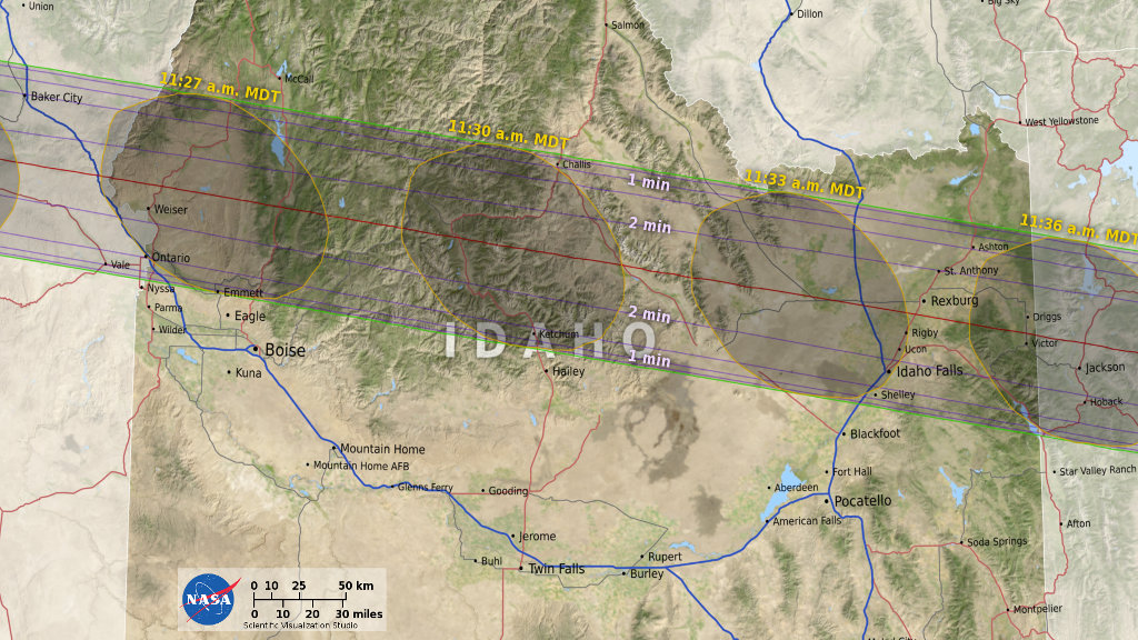 Solar Eclipse What You Need To Know The Verge - Us eclipse 2017 map