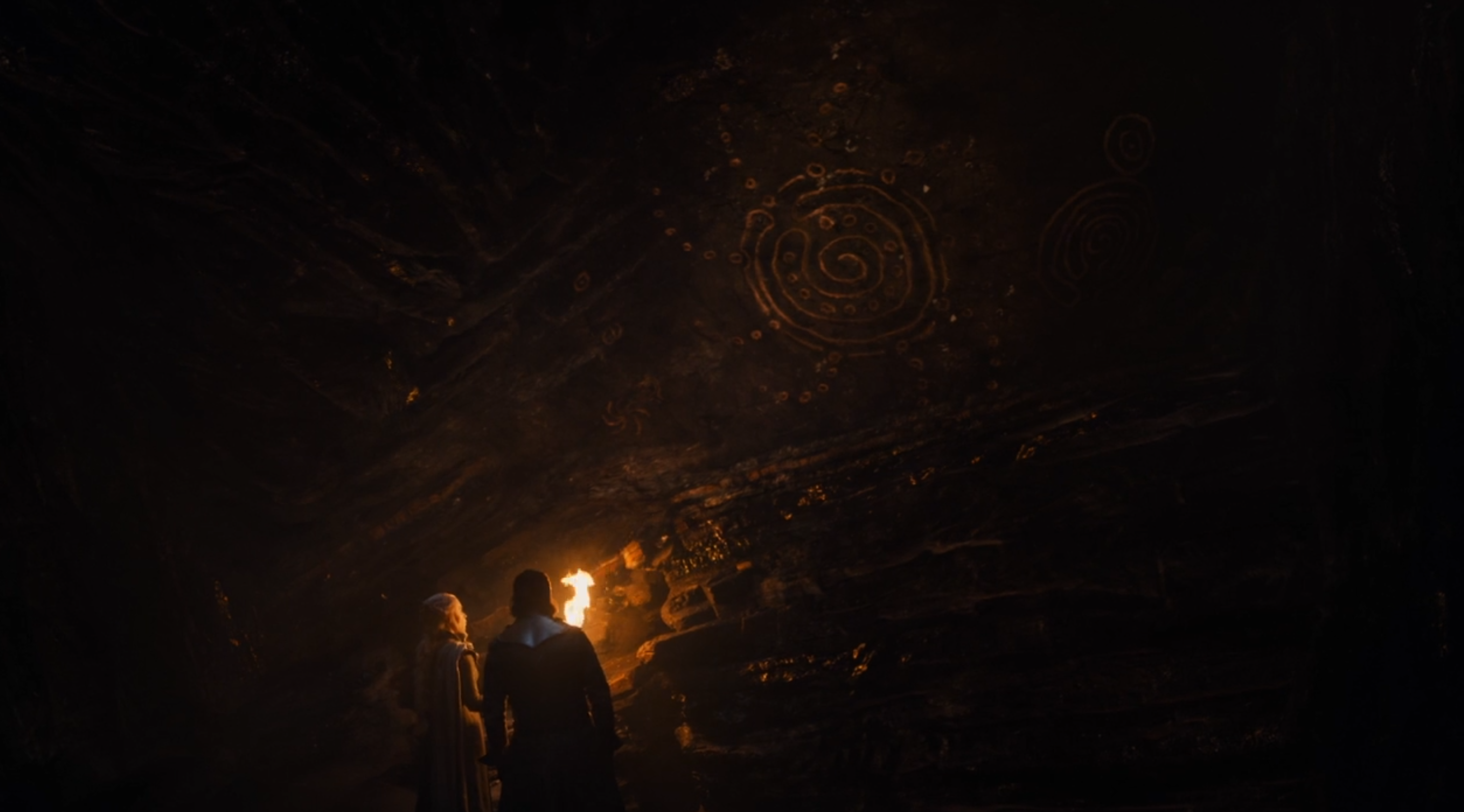 There's a Secret Meaning Behind Those Cave Drawings on 'Game of Thrones'
