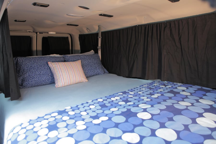 Colorful Camper Vans Available For Rent From 7 U S Cities