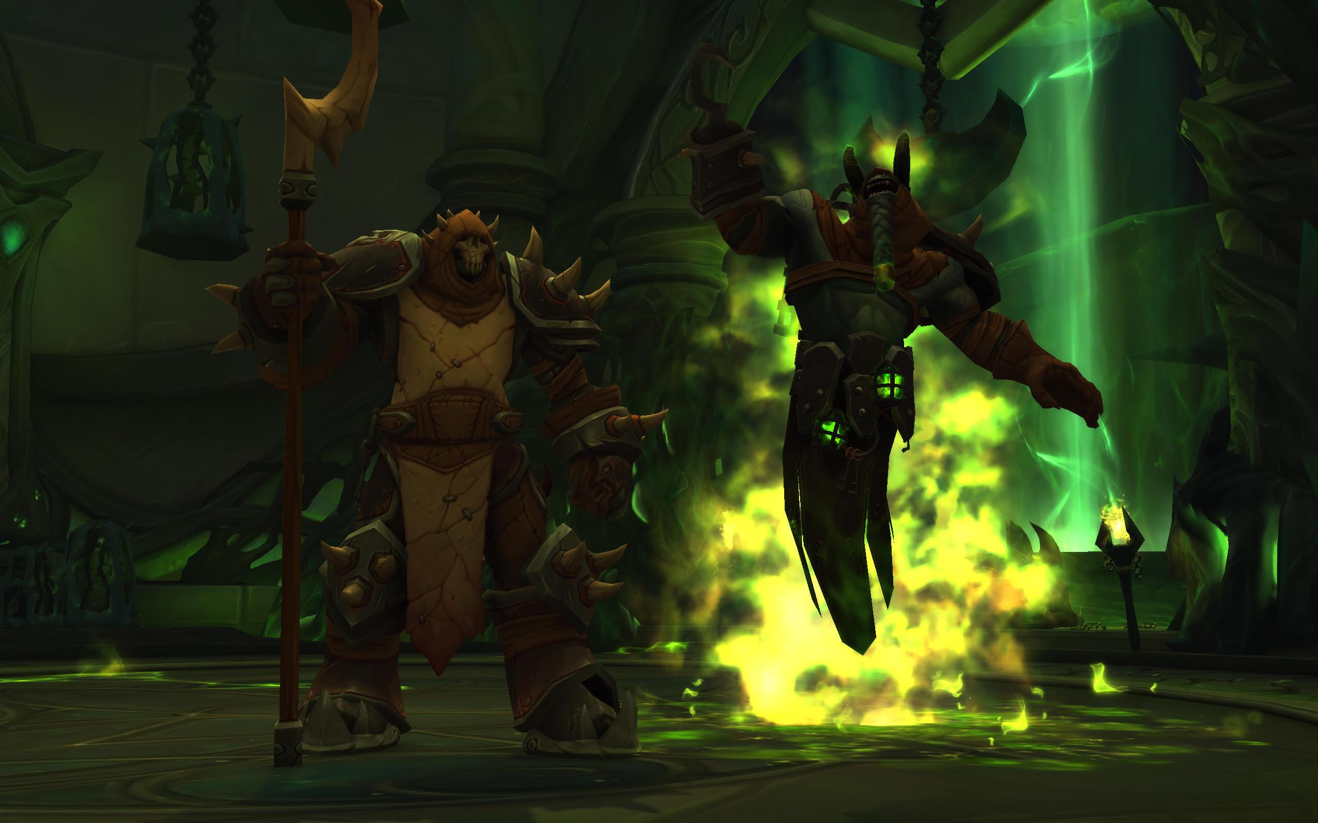 A raid boss from World of Warcraft