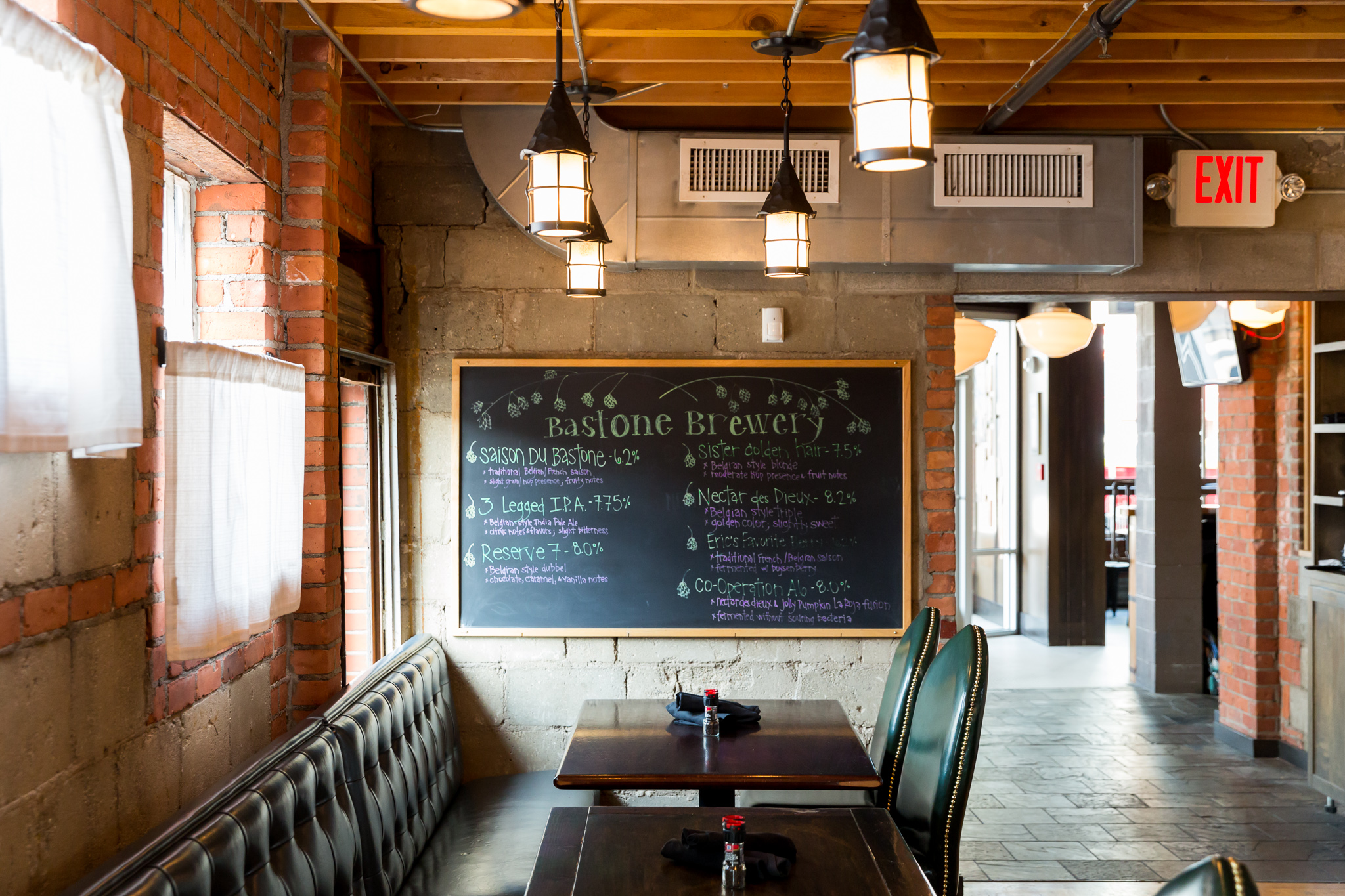 Look inside royal oak s new two in one brewpub eater detroit for Oak city fish and chips menu