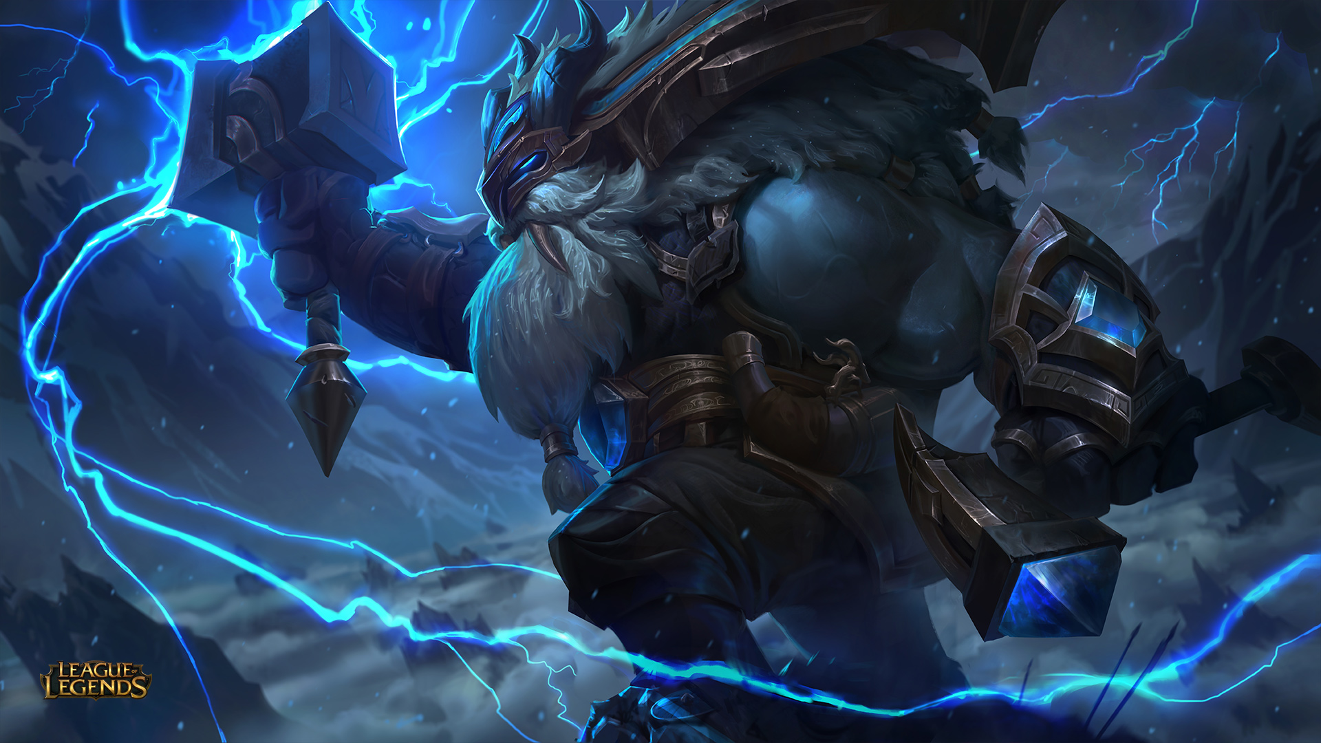 Ornn Release Skin Thunder Lord Is Blue Shiny And Walrus Like The Rift Herald