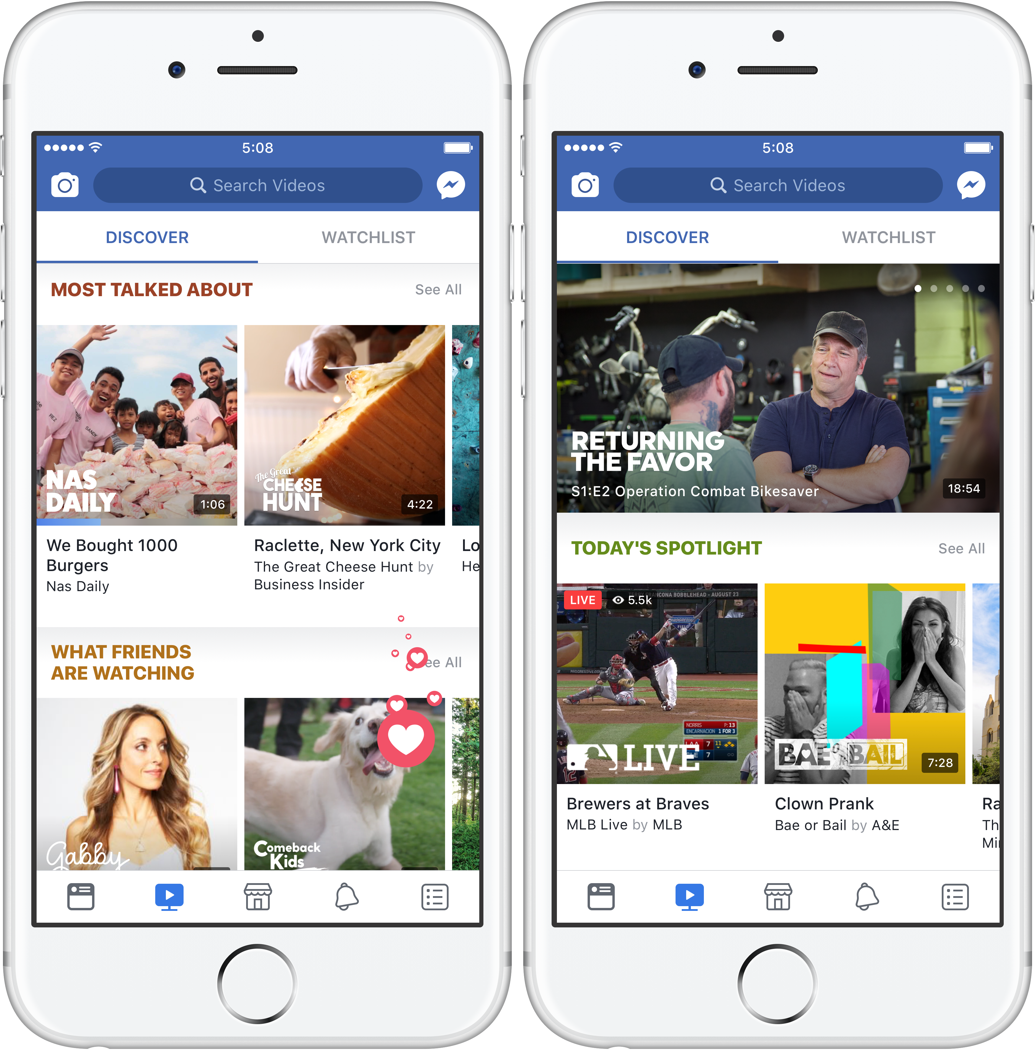 Facebook Announces Watch, A New Section Dedicated For Episodic Video Content