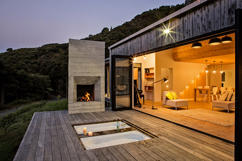 New Zealand 39 S Backcountry Huts Inspired This Breezy Open