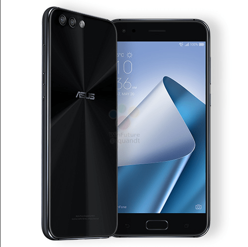 New ASUS Zenfone 4 Pro Design Leaks