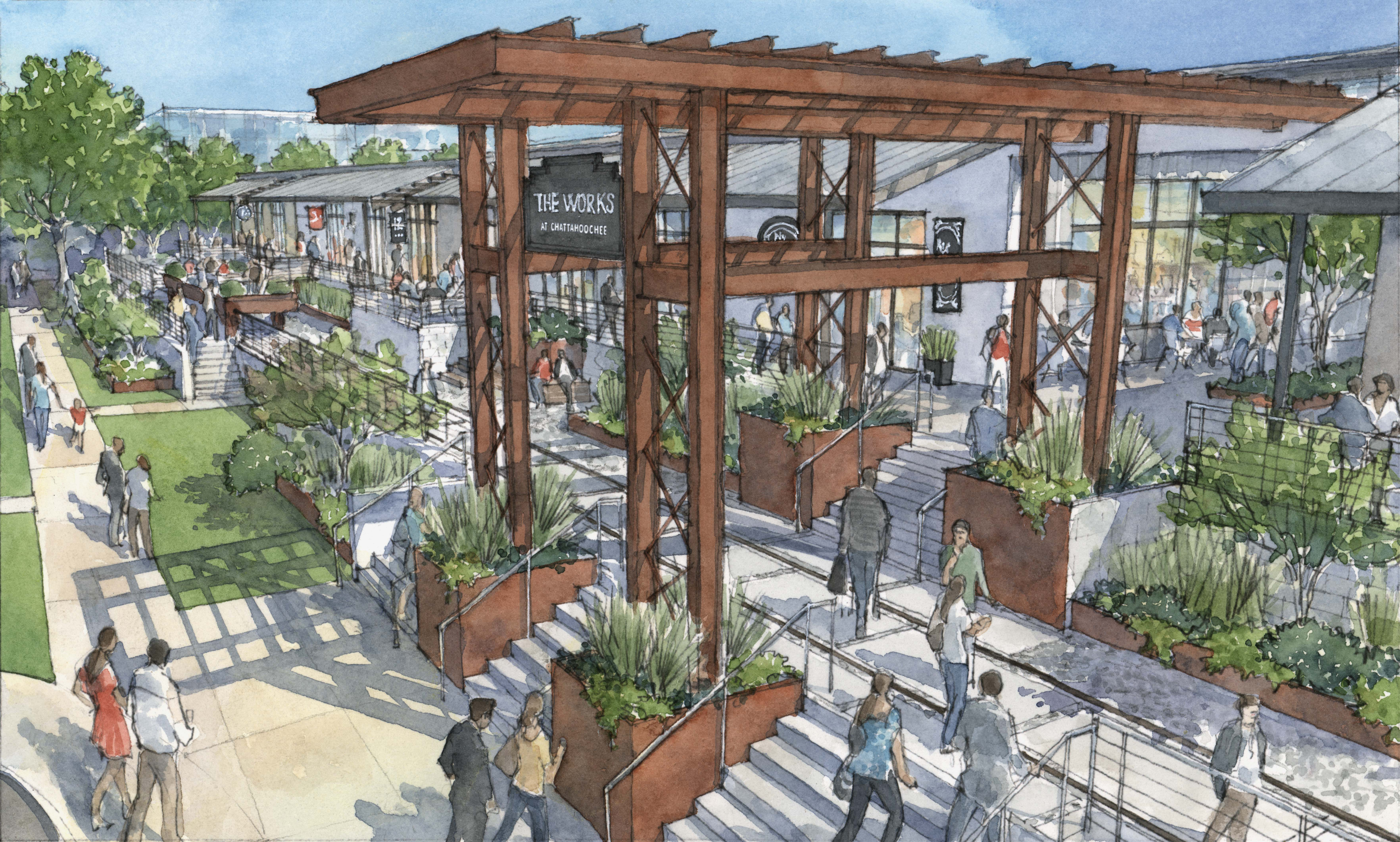 First look: 'The Works' planned for 80 acres on Atlanta's Upper Westside