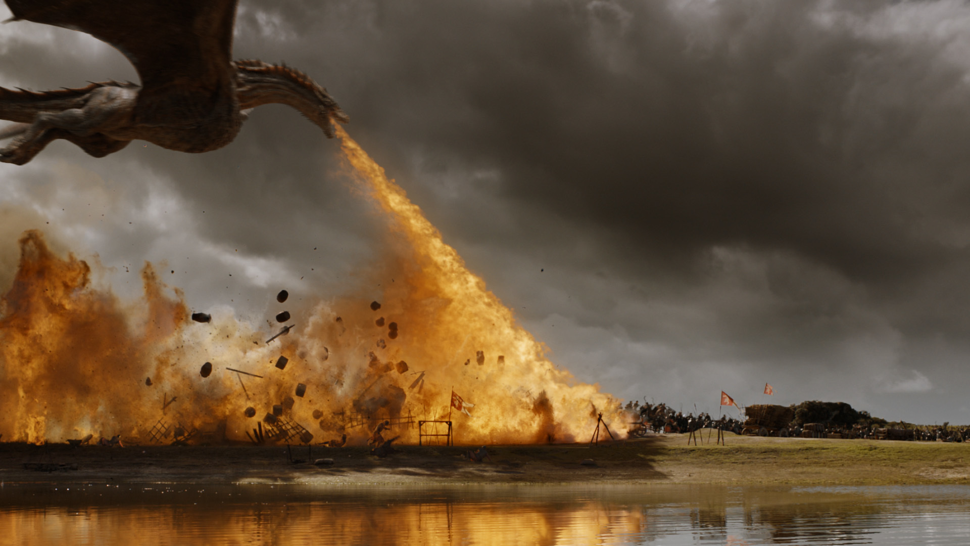 Game of Thrones' cinematographer breaks down the 'dragon ...