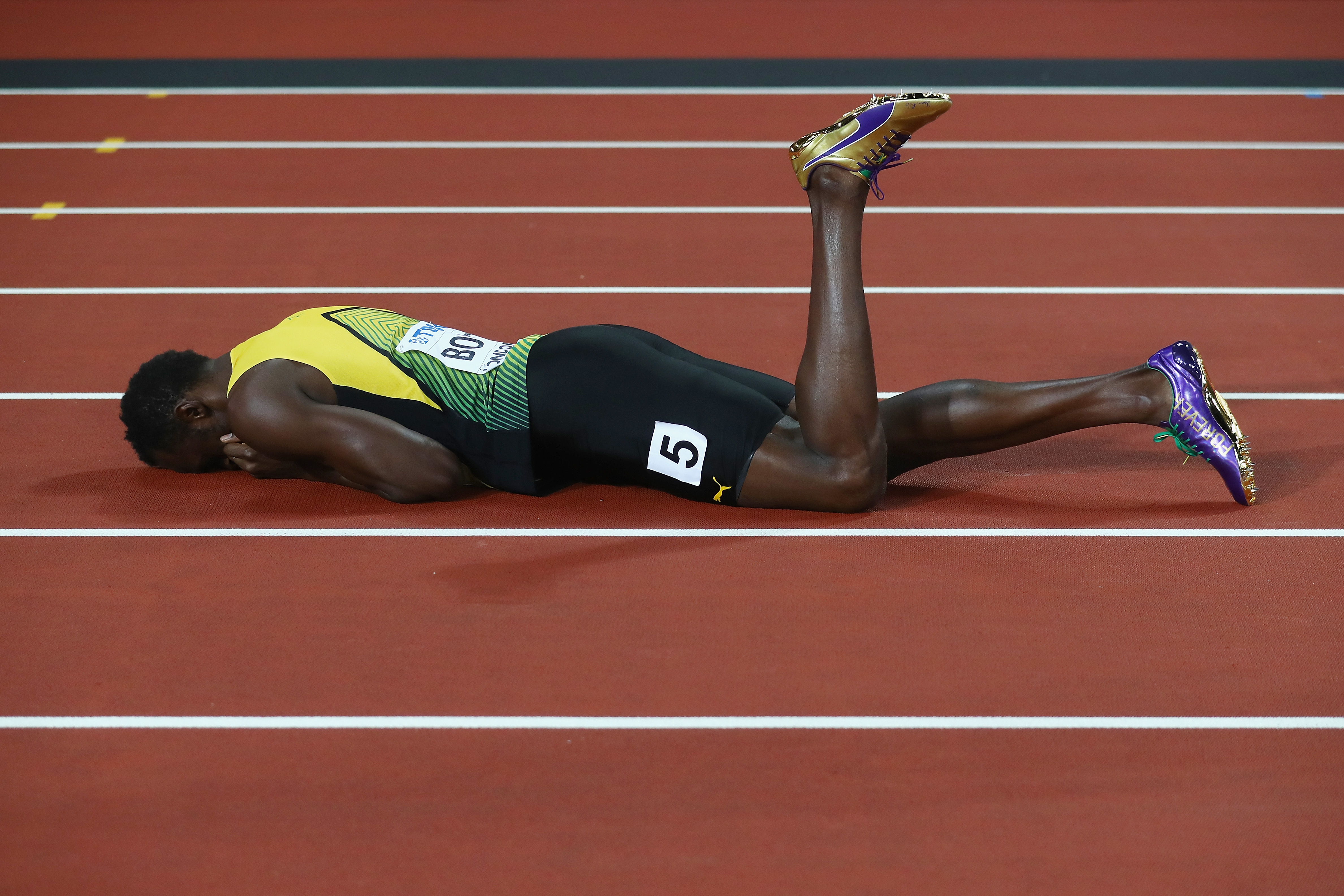 usain bolt lost his final career race but hes still the