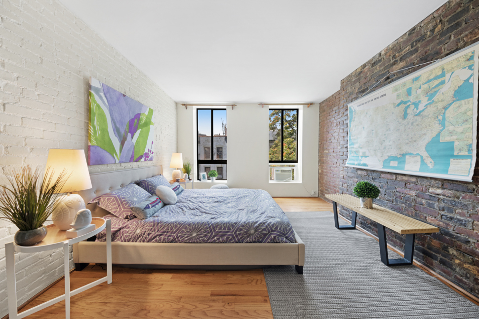 Charming East Village duplex on 'the best tree-lined block' wants $799K