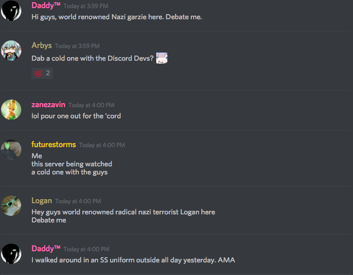 Discord is giving racist alt-right servers the banhammer