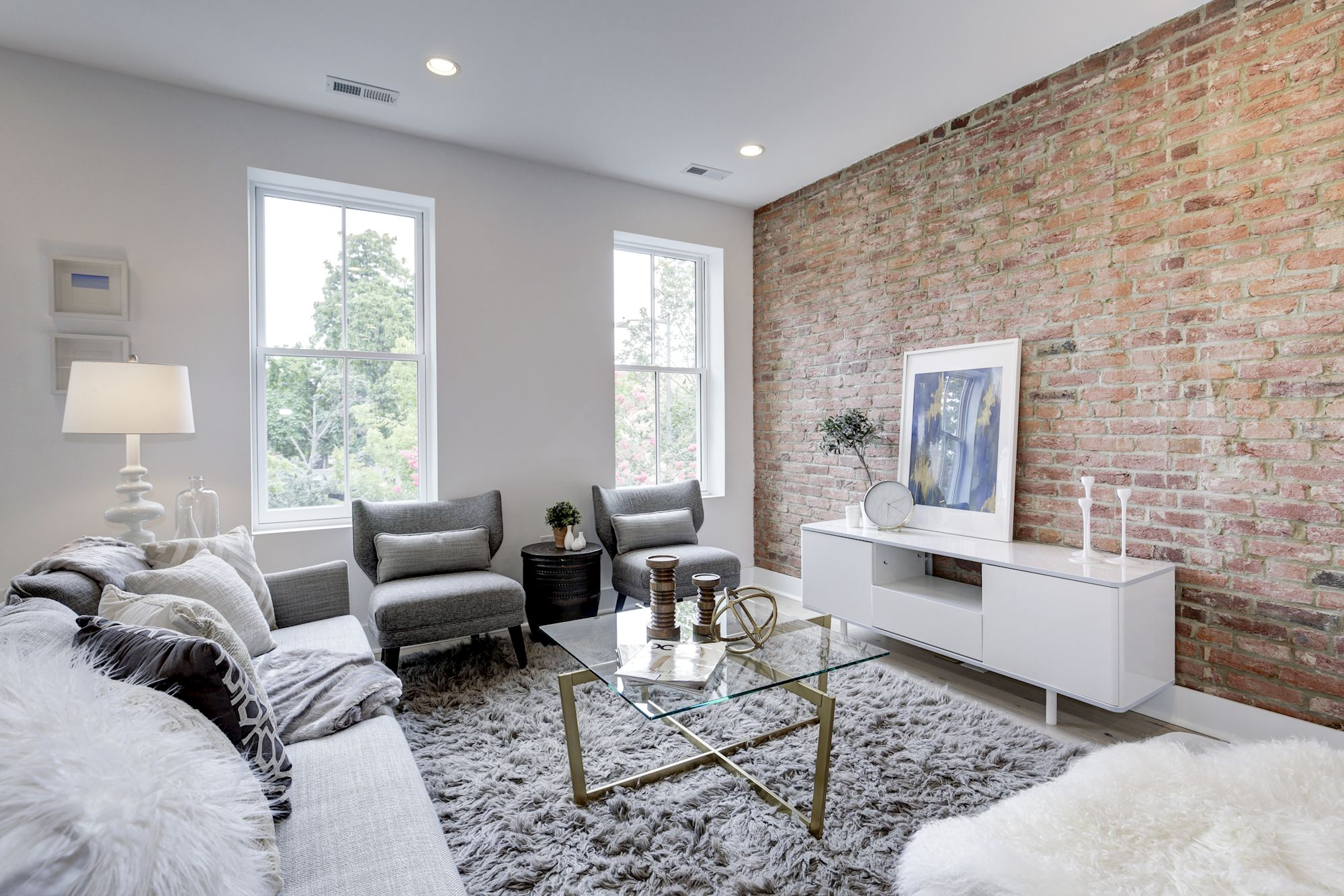drab shaw townhome transforms into two luxury condos curbed dc