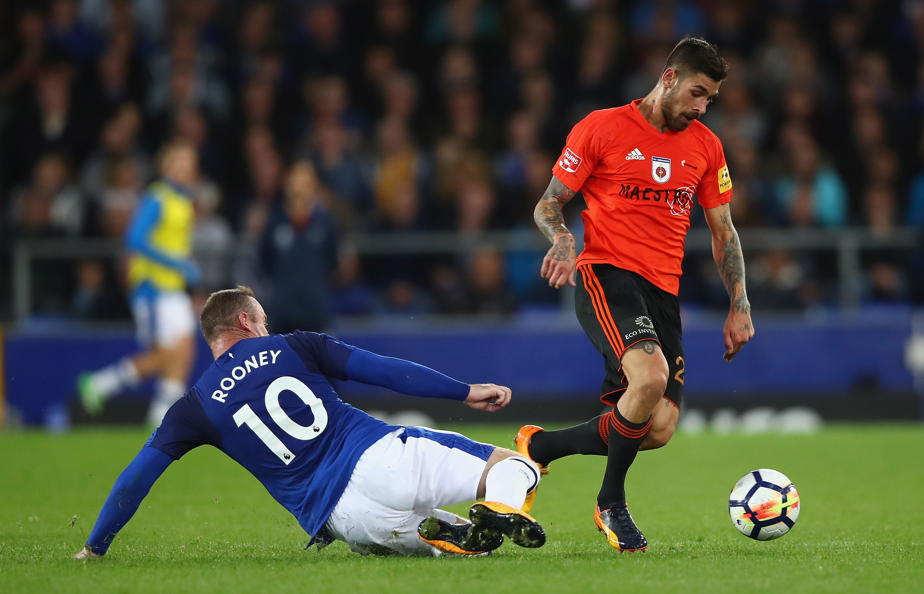 Europa League play-off round updates from Goodison Park