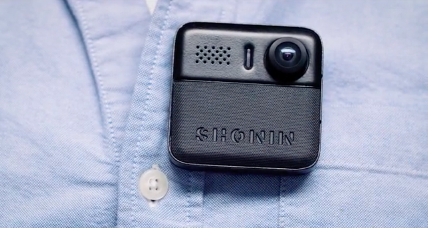 Shonin isn't just a wearable, it's a body cam for civilians - The ...