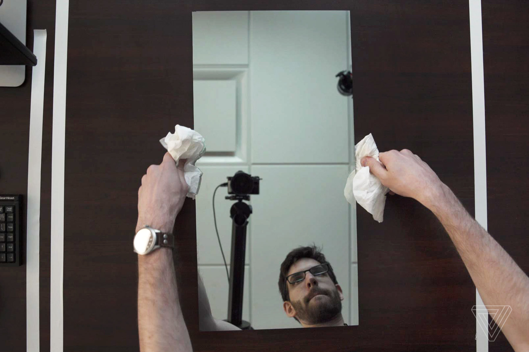 Building your own smart mirror is surprisingly easy the for Two way mirror