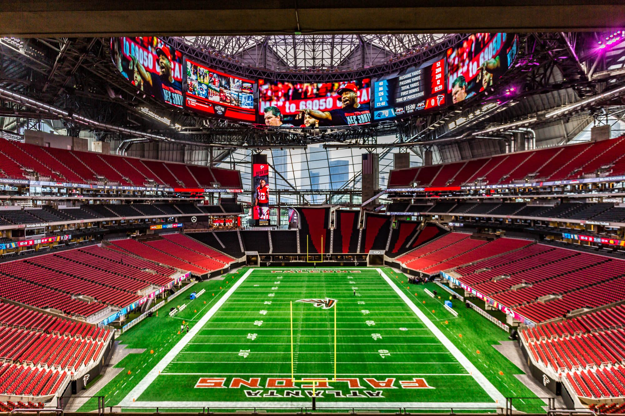 where to eat at mercedes benz stadium home of the atlanta