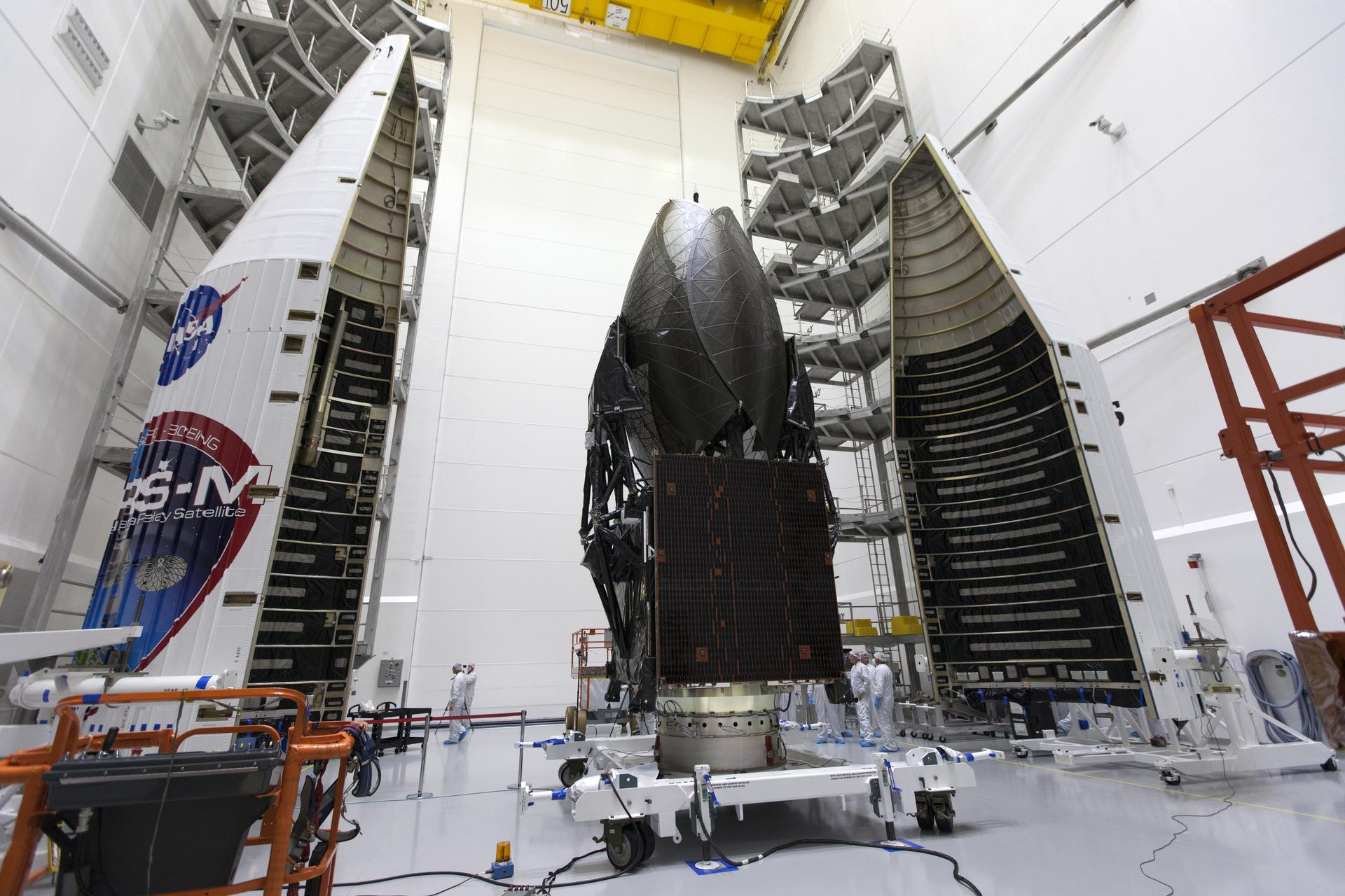 Boeing-Built Satellite Completes NASA's Space Communications Network