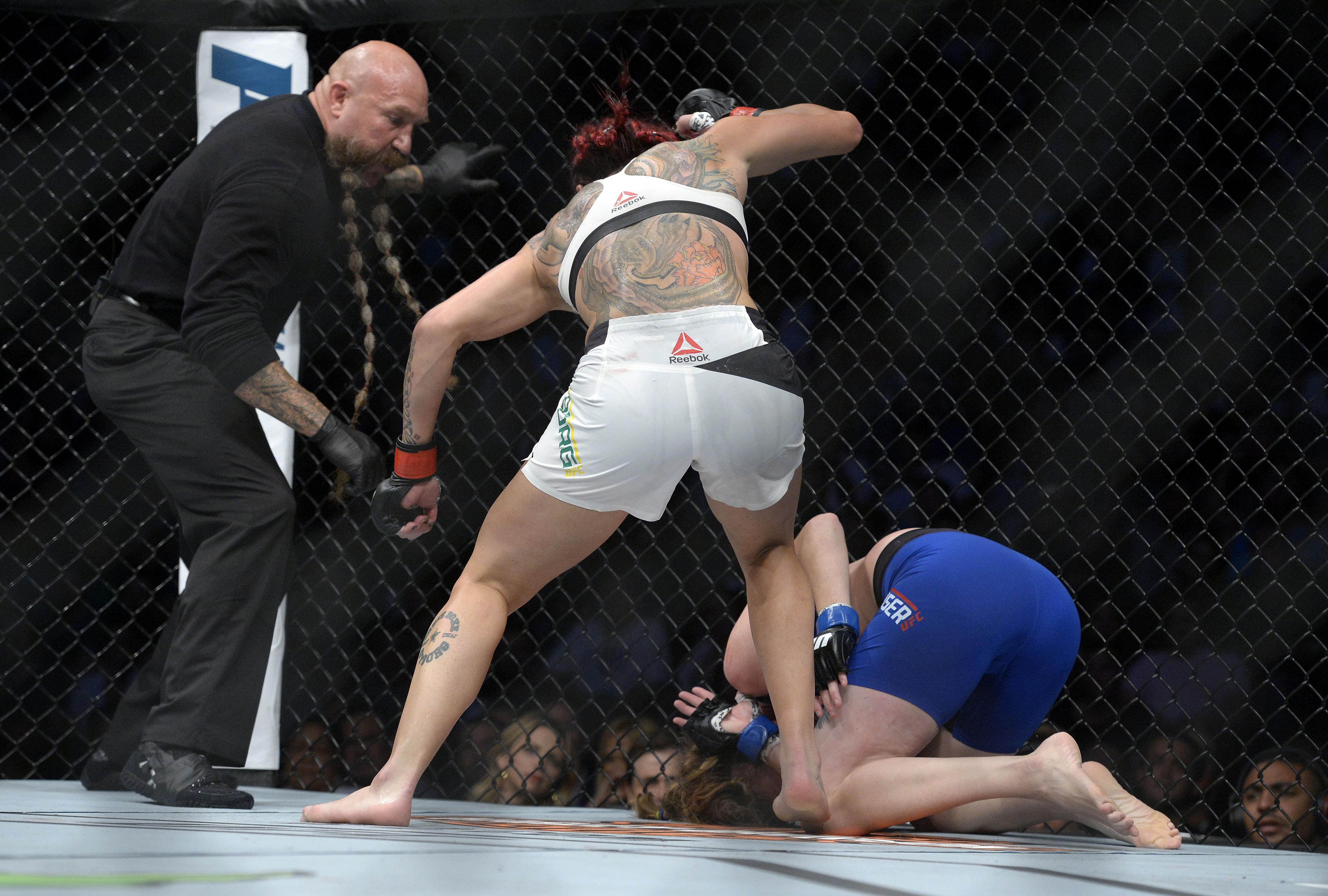 MMA: UFC 214-Cyborg vs Evinger