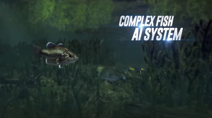 This fishing video game trailer has no business being so for Fishing planet game