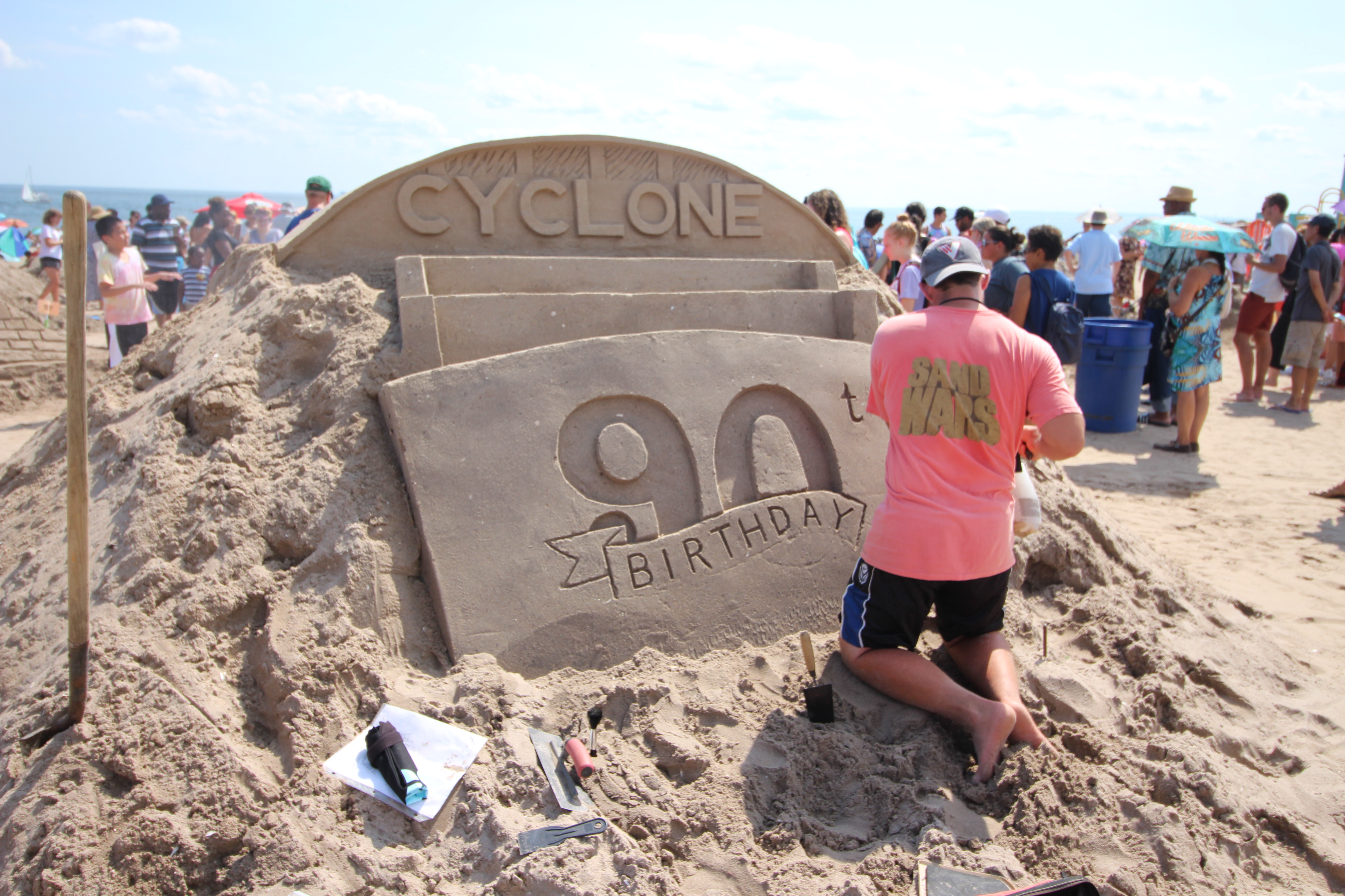 coney island's annual sand sculpting contest; in photos - curbed ny