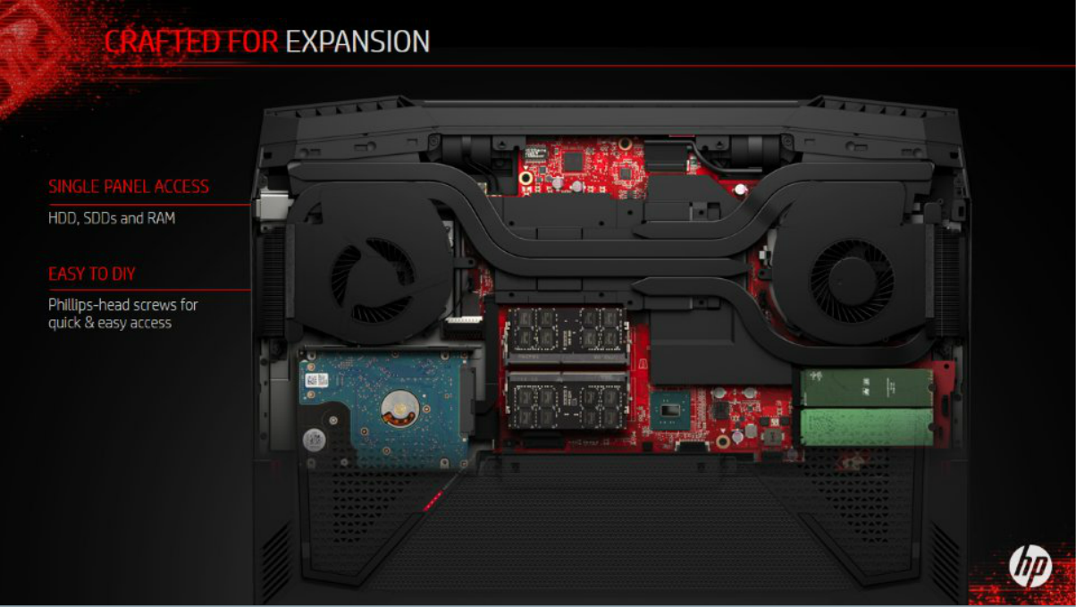 HP's first Omen X gaming laptop includes easy access to ... | 1204 x 679 png 805kB