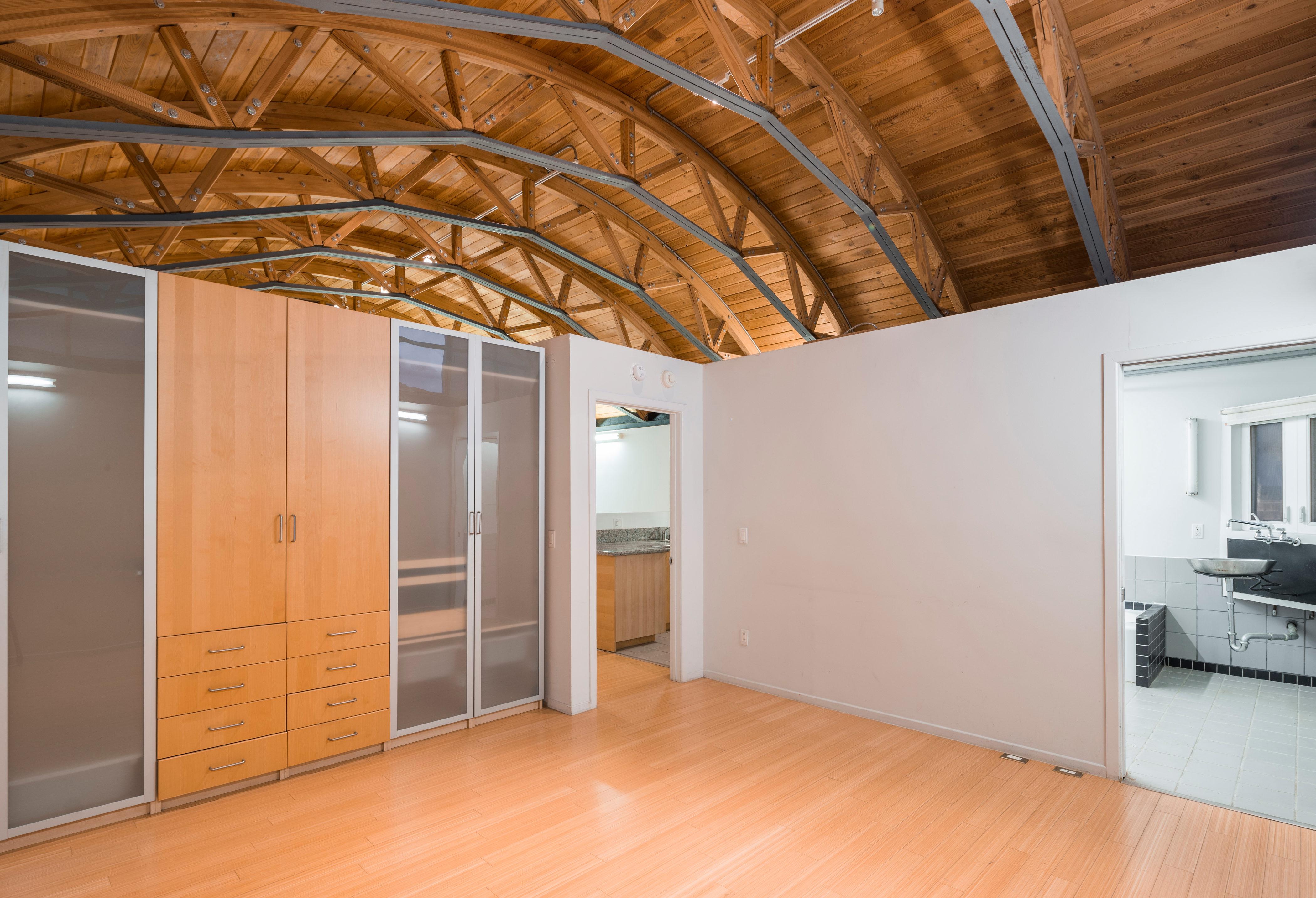 wild loft style residences in sawtelle seeking 2 7m curbed la bedroom leading into bathroom