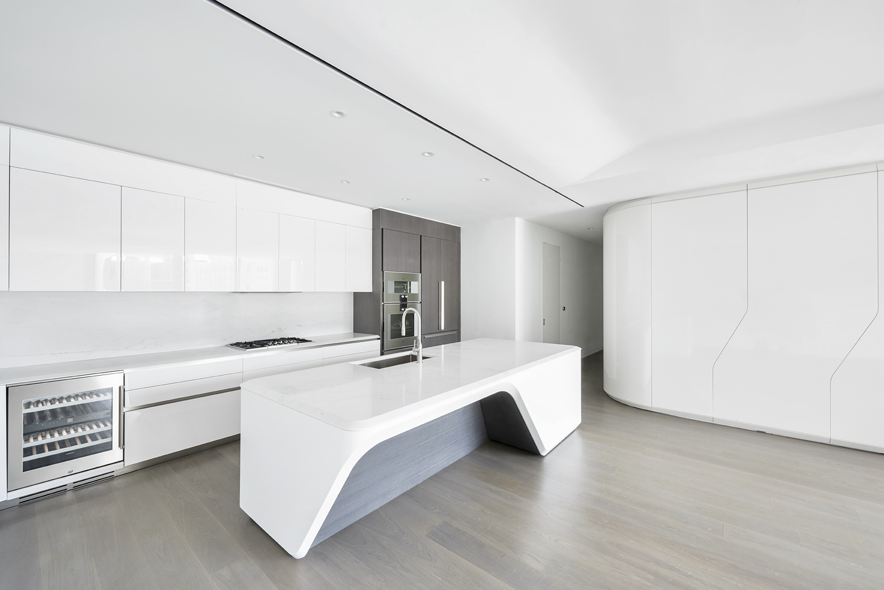 zaha hadid u0027s curved west chelsea condo gets its first rental