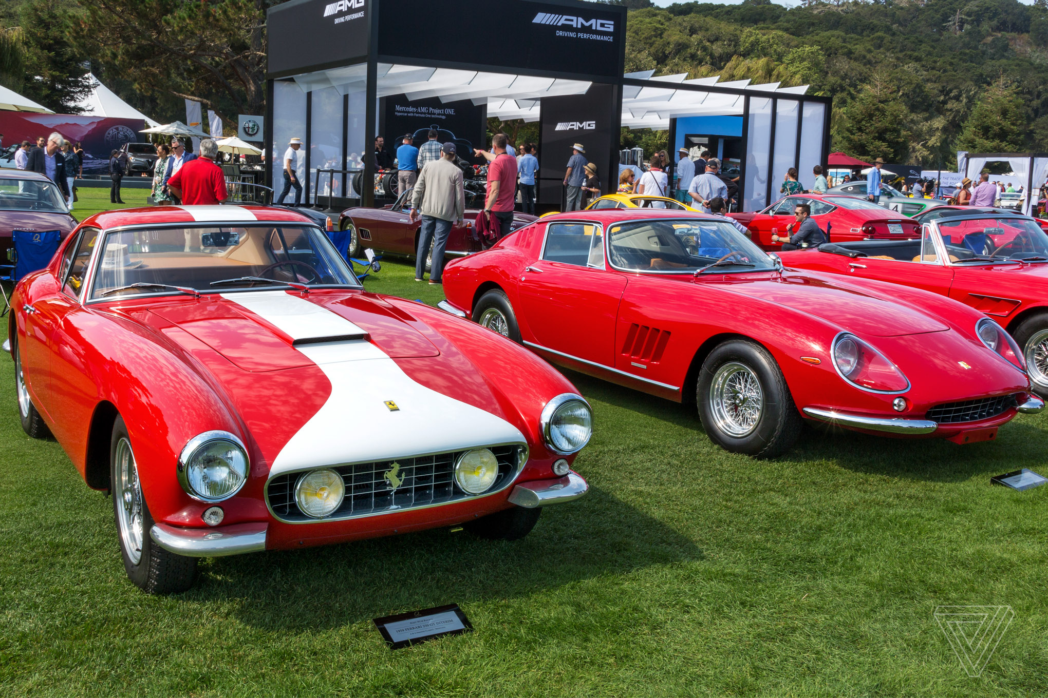 America S Most Important Luxury Car Show The Verge