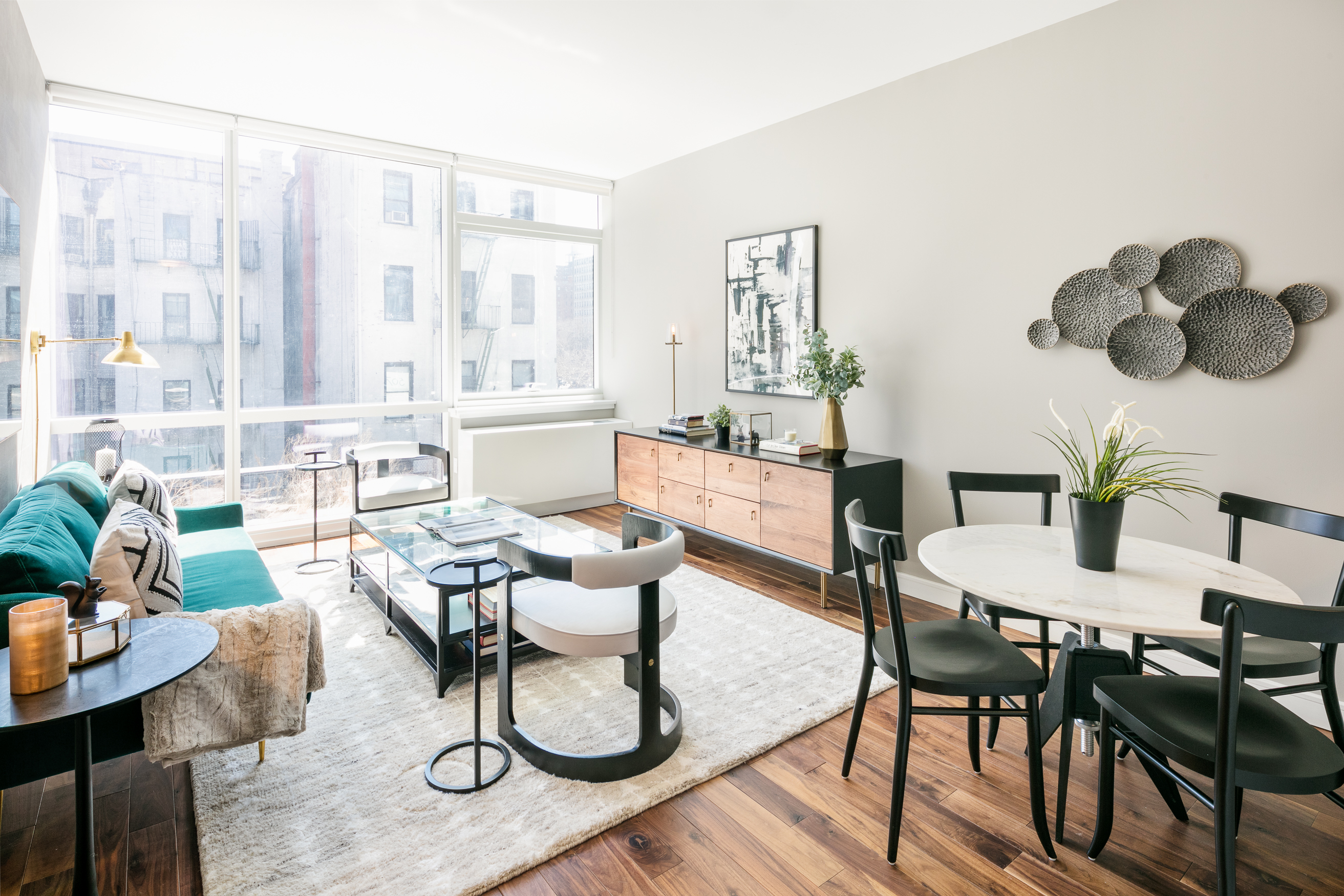 ... Find At 507 West Chelseau0027s (as This Project Is Known) Rentals Include  Kitchens With Stainless Steel Backsplashes And Caesarstone Quartz  Countertops; ...
