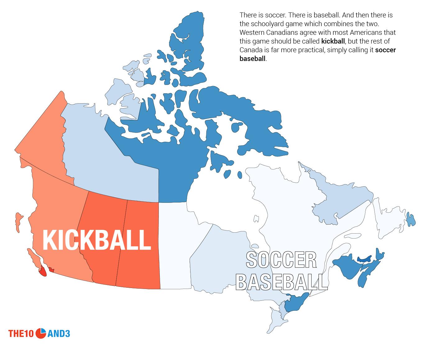 canada u0027s other term for kickball is u0027soccer baseball u0027 which